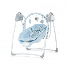 Chipolino Electric baby swing and bouncer Paradise blie