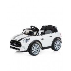 Chipolino Battery operated car Mini Cooper Hatch, White