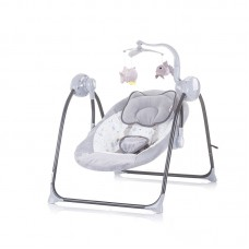 Chipolino Electric musical baby swing Hug, mist