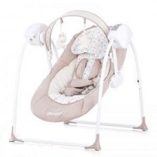 Chipolino Electric baby swing Lullaby, Mocca