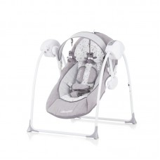 Chipolino Electric baby swing Lullaby, Grey