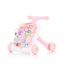 Chipolino Musical baby walky  2 in 1 Multi pink