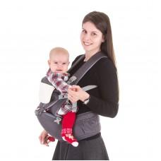 Chipolino Baby carrier Brisa, graphite