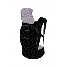 Chipolino Baby carrier Hippy pink stars