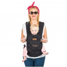 Chipolino Baby carrier Hippy grey stars