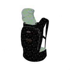 Chipolino Baby carrier Hippy green stars