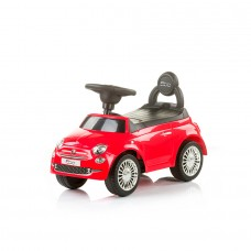 Chipolino Ride on car Fiat 500 red