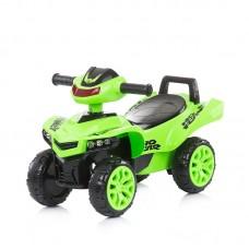 Chipolino Детска музикална кола за яздене АТВ, зелена