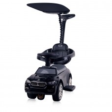 Chipolino Ride on car with handle and canopy Speed black