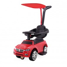 Chipolino Ride on car with handle and canopy Speed red