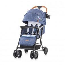 Chipolino April Baby Stroller blue linen