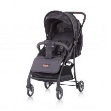Chipolino Baby Stroller Elea, graphite linen