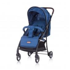 Chipolino Baby Stroller Elea, navy linen