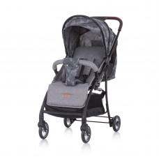 Chipolino Baby Stroller Elea, grey linen