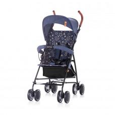 Chipolino Baby Stroller Coco blue linen