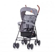 Chipolino Baby Stroller Coco grey linen