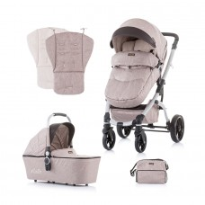 Chipolino Baby Stroller and carry cot Malta mocca