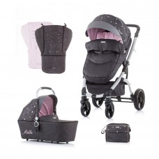 Chipolino Baby Stroller and carry cot Malta baby pink