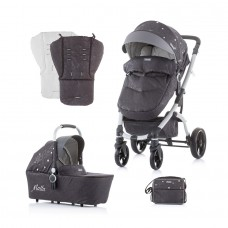 Chipolino Baby Stroller and carry cot Malta silver
