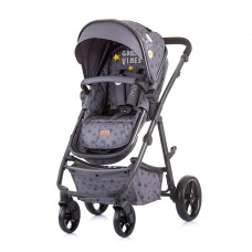 Chipolino Baby stroller and carry cot 2 in 1 Milo graphite