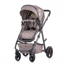 Chipolino Baby stroller and carry cot 2 in 1 Milo mocca