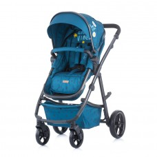 Chipolino Baby stroller and carry cot 2 in 1 Milo ocean
