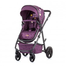 Chipolino Baby stroller and carry cot 2 in 1 Milo orchid