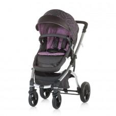 Chipolino Baby stroller Malta 2 in 1 amethyst