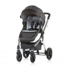 Chipolino Baby stroller Malta 2 in 1 granite grey