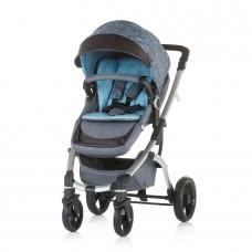 Chipolino Baby stroller Malta 2 in 1 blue sky