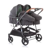 Chipolino Twin Stroller Duo Smart, mint
