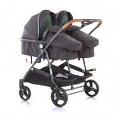 Chipolino Twin Stroller Duo Smart, mint