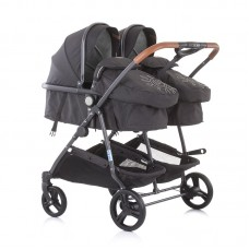 Chipolino Twin Stroller Duo Smart, mist
