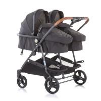 Chipolino Twin Stroller Duo Smart, vanilla