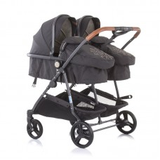 Chipolino Twin Stroller Duo Smart, vanilla