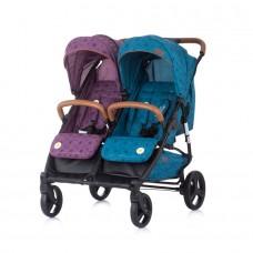 Chipolino Twin Stroller Passo Doble  boy / girl