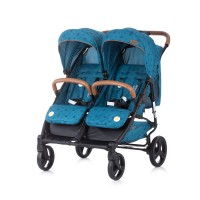 Chipolino Twin Stroller Passo Doble ocean