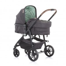 Chipolino Бебешка комбинирана количка с трансформираща седалка Адора, мента