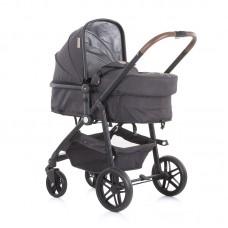 Chipolino Бебешка комбинирана количка с трансформираща седалка Адора, мъгла