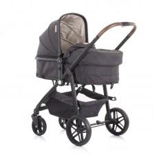 Chipolino Бебешка комбинирана количка с трансформираща седалка Адора, ванилия