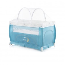 Chipolino Bella Play pen and crib aqua
