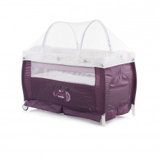 Chipolino Bella Play pen and crib amethyst