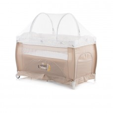 Chipolino Bella Play pen and crib caramel
