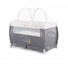Chipolino Bella Play pen and crib ash
