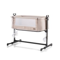 """Chipolino Co-sleeping cradle with drop side, model """"Close To Me"""" Beige"""