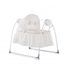 Chipolino Baby sleeping bed - cradle Rock-a-bye ivory