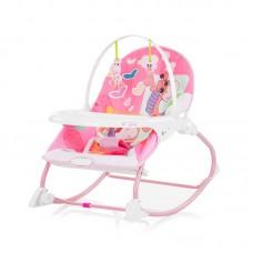Chipolino Baby musical rocker Enjoy, pink