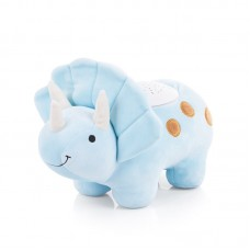 Chipolino Soothing plush toy with projector and music Dino blue
