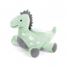 Chipolino Soothing plush toy with projector and music Dino green