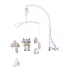 Chipolino Musical mobile for bed, Raccoon